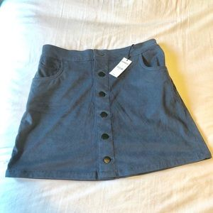Express Skirts - Express faux suede skirt new with tag